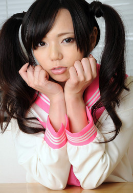 Little Chinese schoolgirl Yuria in..