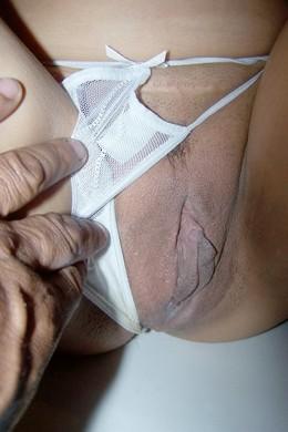 Busty milf chick with big nipples got..
