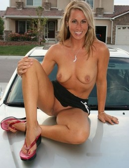 Naked ex-wives and cars