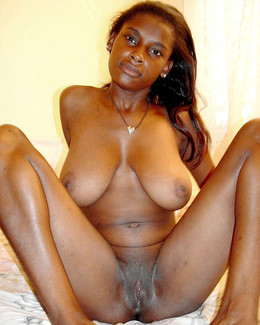 Not big breasts of ebony babes