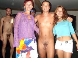 Depraved student, beautiful cfnm, nude..