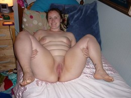 Sexy amateur BBW's pussy, handmade..