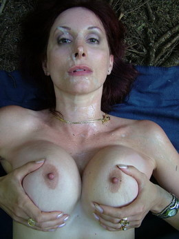 Picture collection of jizzed mature..