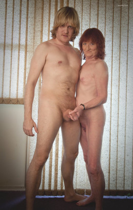 This is Us in the Nude and Showing It..