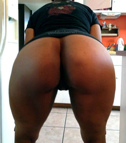 Real mature black ex-wife with a large..