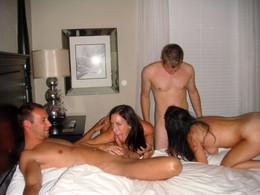 Amateur sex party at pool. Swinger..