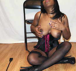 Cute black milf in the best nude photo..