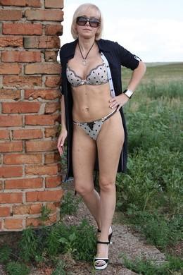 Rus Irina fahise, shaved pussy