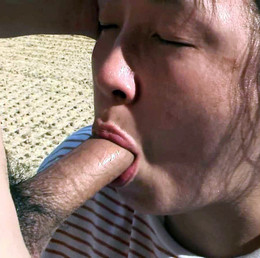 Chubby asian mom fucked in woods after..