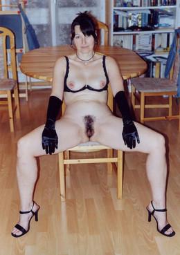 Valeria lingerie hairy pussy amateur..