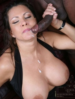 Horny wives enjoy big black dicks at..