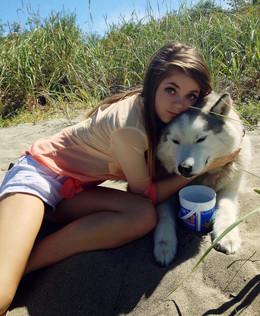 Sexy teen Danni Meow hot selfies