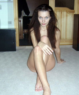 Sexy slim and flexible young wife..
