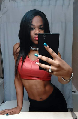 The most sexy black hot selfie,..