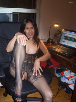 Hot and sexy nylon pantyhose stockings..