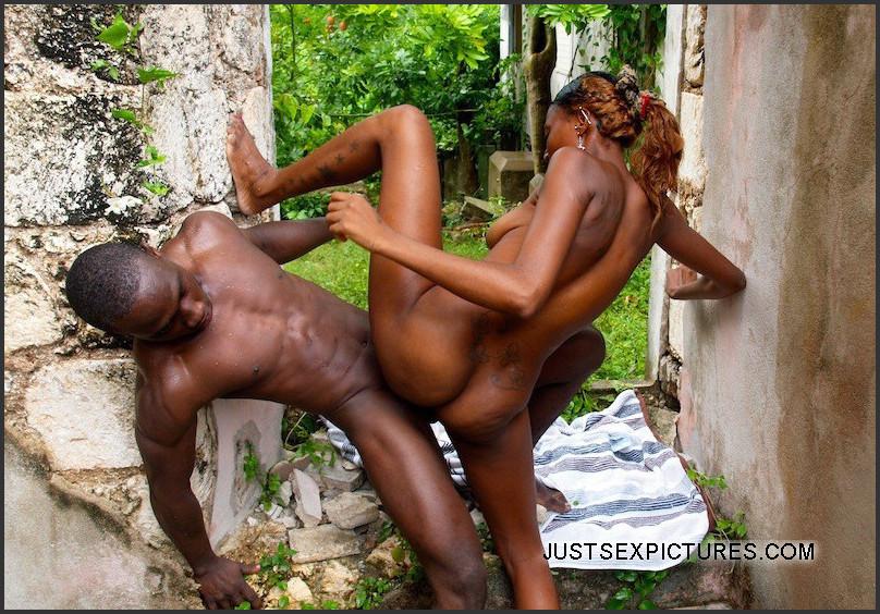 Young Black Amateur Couple